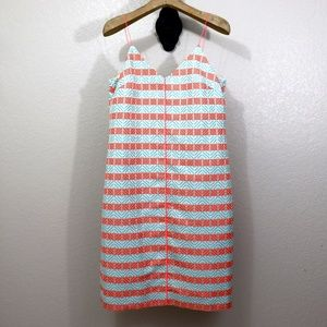 NWT J. Crew Diamond Stripe Shift Dress